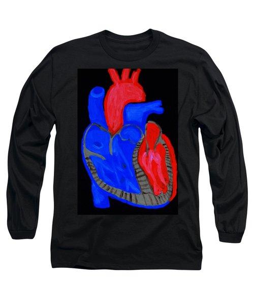 Heart A Glow Long Sleeve T-Shirt by Lisa Brandel