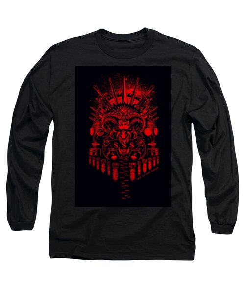 Hell Is Ur Choice Long Sleeve T-Shirt by Tony Koehl