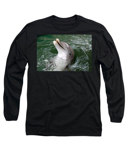 Long Sleeve T-Shirt featuring the photograph Hi by John Schneider