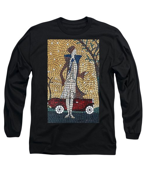 Long Sleeve T-Shirt featuring the painting High Fashion by Cynthia Amaral