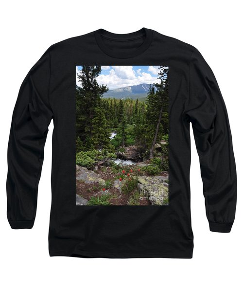 Hiking In Colorado Long Sleeve T-Shirt