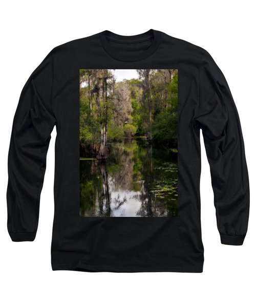 Hillsborough River In March Long Sleeve T-Shirt