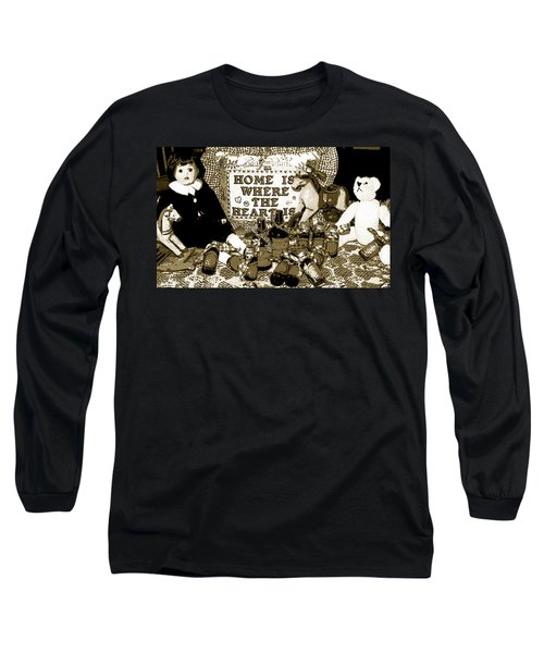 Long Sleeve T-Shirt featuring the photograph Home Americana Style by Pamela Hyde Wilson