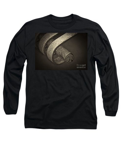 Long Sleeve T-Shirt featuring the photograph Hooked. by Clare Bambers