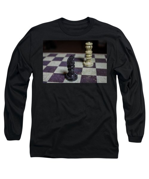 Long Sleeve T-Shirt featuring the photograph Horsing Around by Stephanie Nuttall