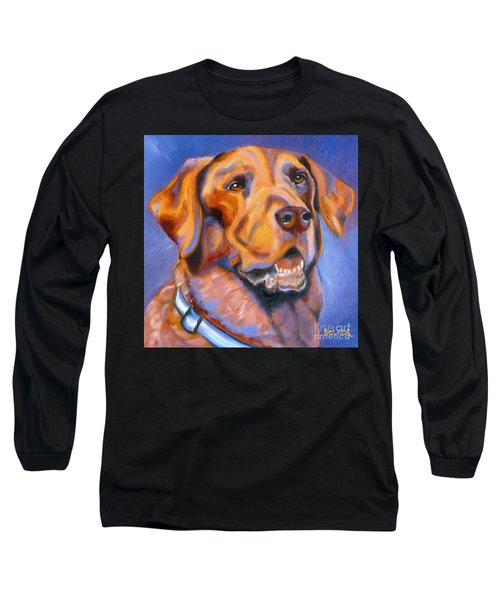 Hot Chocolate Lab Long Sleeve T-Shirt
