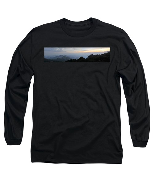 Huangshan Panorama 6 Long Sleeve T-Shirt