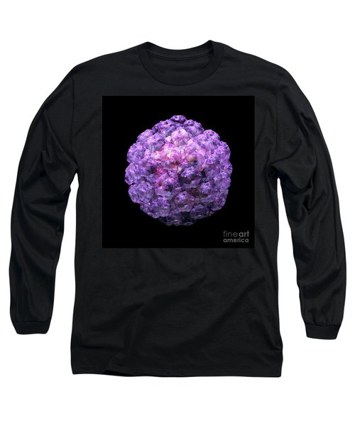 Long Sleeve T-Shirt featuring the digital art Human Papilloma Virus  10 by Russell Kightley