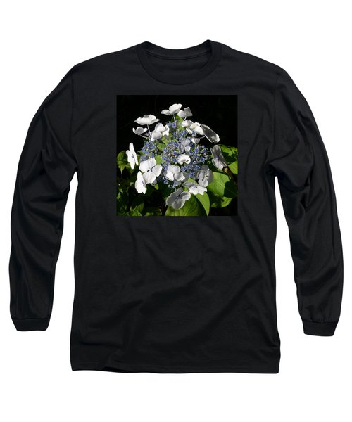Long Sleeve T-Shirt featuring the digital art Hydranga by Claude McCoy