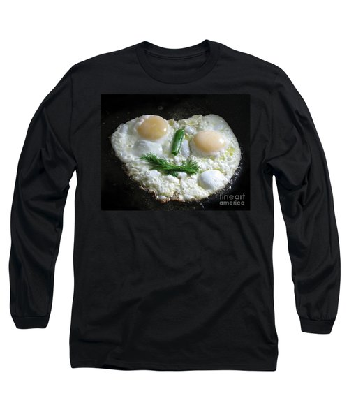 I Like To Cook Differently. Morning Creation. Long Sleeve T-Shirt