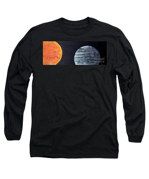 Long Sleeve T-Shirt featuring the painting Illumination by Barbara Moignard