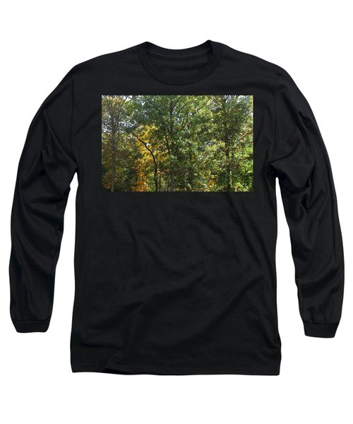 Long Sleeve T-Shirt featuring the photograph Image Of Fall by Pamela Hyde Wilson