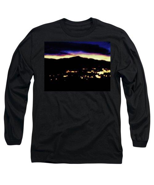Impressionistic Pikes Peak Long Sleeve T-Shirt