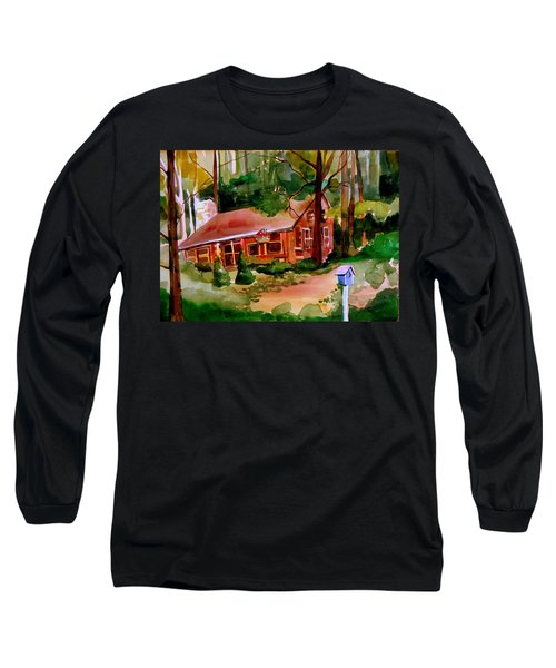 In A Cottage In The Woods Long Sleeve T-Shirt