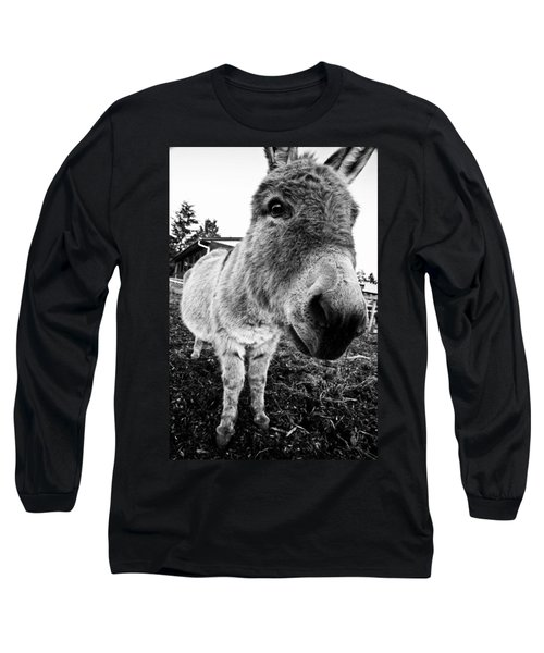In Your Face Long Sleeve T-Shirt