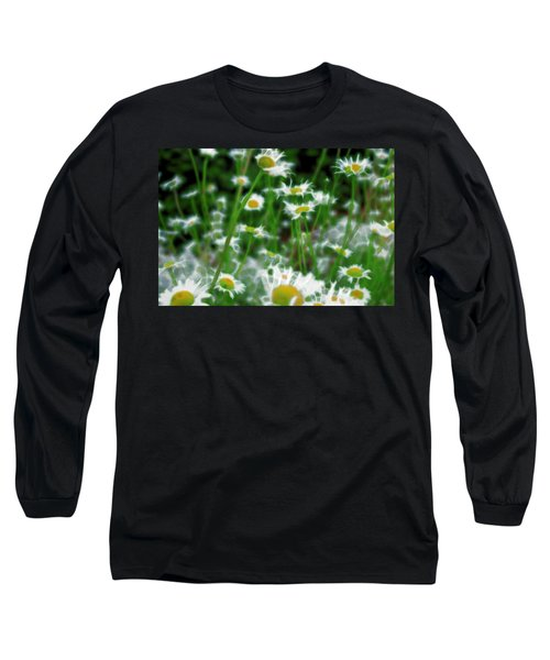 Long Sleeve T-Shirt featuring the mixed media Infiltrator by Terence Morrissey