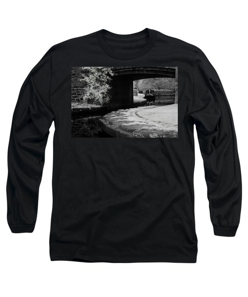 Infrared At Llangollen Canal Long Sleeve T-Shirt