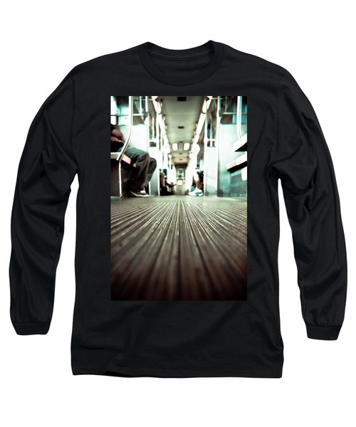 Inside The L At A Low Angle Long Sleeve T-Shirt