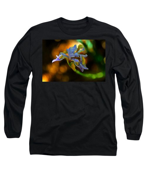 Long Sleeve T-Shirt featuring the photograph Iris by Tam Ryan