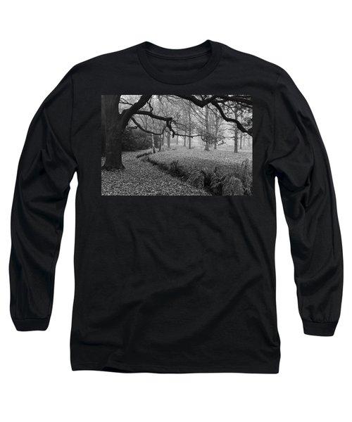 Long Sleeve T-Shirt featuring the photograph Isabella Plantation by Maj Seda