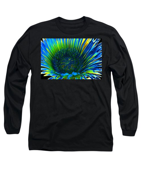 I've Got The Blues Long Sleeve T-Shirt by Mariola Bitner