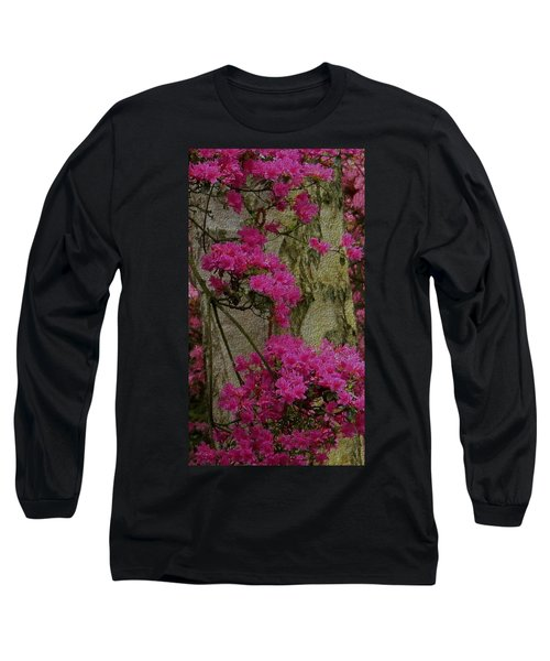 Japanese Painting Long Sleeve T-Shirt by Manuela Constantin