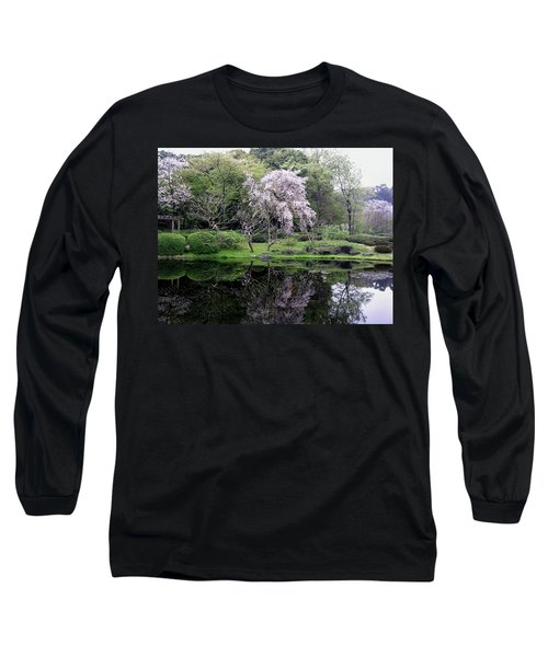 Japan's Imperial Garden Long Sleeve T-Shirt