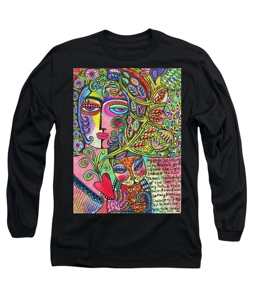 Journey Of The Heart Long Sleeve T-Shirt