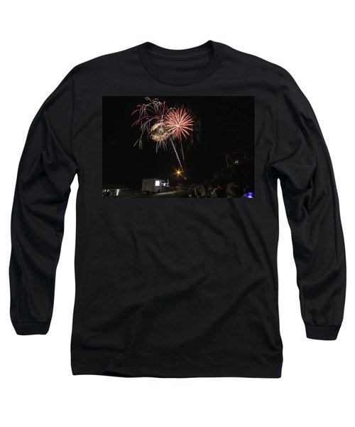 Long Sleeve T-Shirt featuring the photograph July 4th 2012 by Tom Gort
