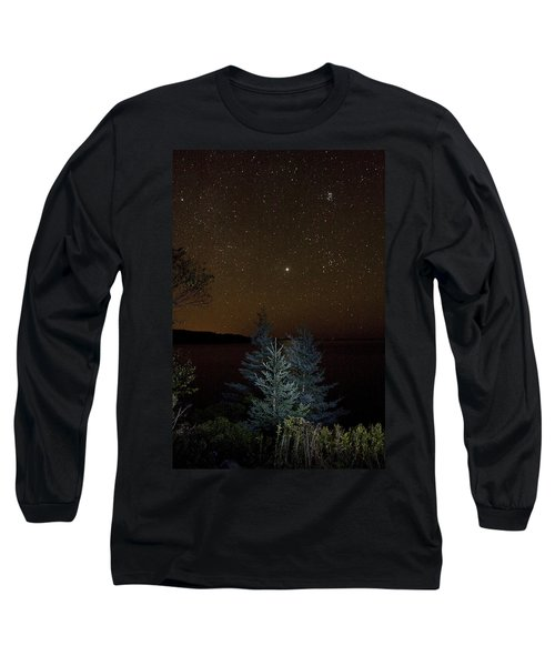 Long Sleeve T-Shirt featuring the photograph Jupiter  Over Otter Point 3 by Brent L Ander