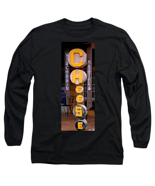 Just Say Cheese Long Sleeve T-Shirt