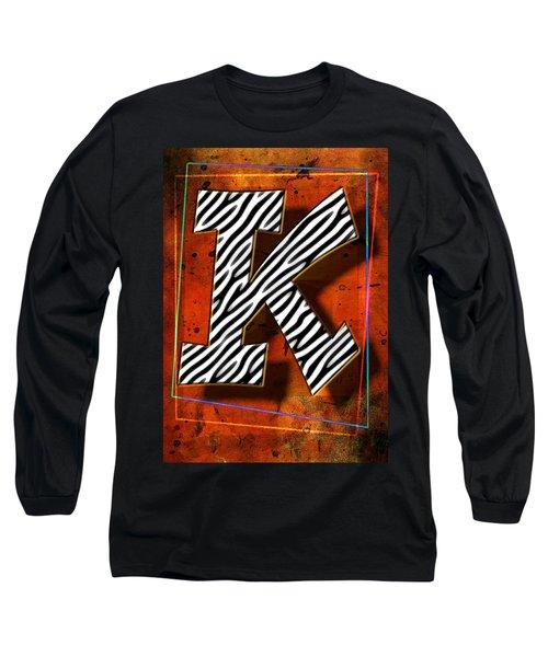 K Long Sleeve T-Shirt