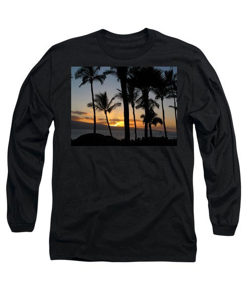 Ka'anapali Sunset Long Sleeve T-Shirt