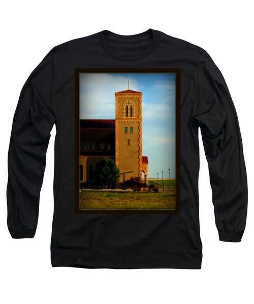 Long Sleeve T-Shirt featuring the photograph Kansas Architecture by Jeanette C Landstrom