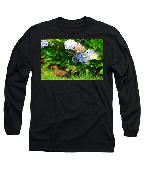 Long Sleeve T-Shirt featuring the photograph Kauai Wildlife by Lynn Bauer