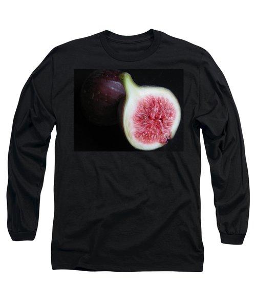 Long Sleeve T-Shirt featuring the photograph Kitchen - Garden - Forbidden Fruit by Susan Carella