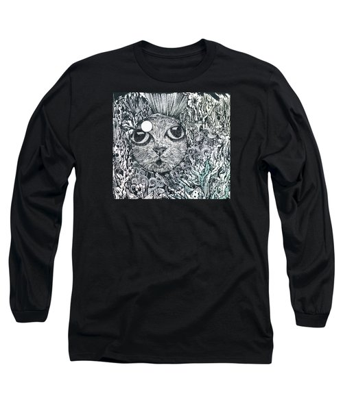 Cat In A Fish Bowl Long Sleeve T-Shirt