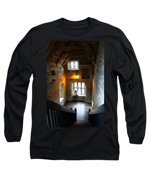 Long Sleeve T-Shirt featuring the photograph Lady In Waiting  by Charlie and Norma Brock