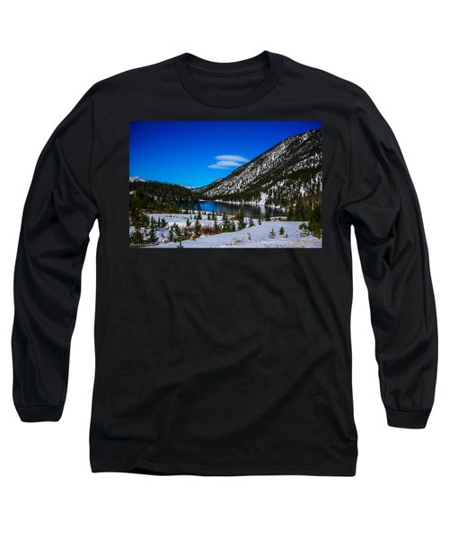 Long Sleeve T-Shirt featuring the photograph Lake In The Mountains by Shannon Harrington