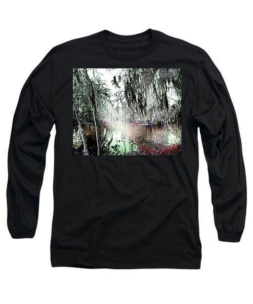 Long Sleeve T-Shirt featuring the photograph Lake Martin Swamp by Lizi Beard-Ward