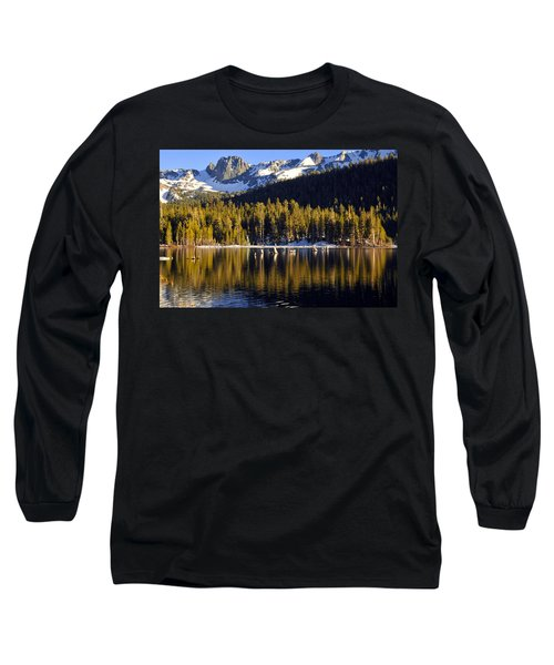 Long Sleeve T-Shirt featuring the photograph Lake Mary Reflections by Lynn Bauer