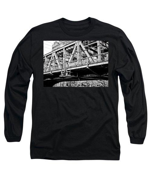 Lake Street Bridge Long Sleeve T-Shirt
