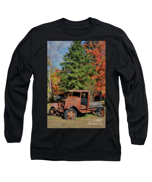 Left Outside Long Sleeve T-Shirt