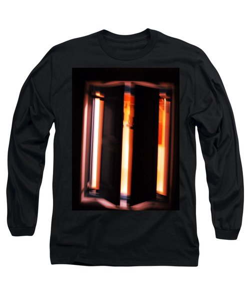 Long Sleeve T-Shirt featuring the photograph Light Reflections by Colette V Hera  Guggenheim