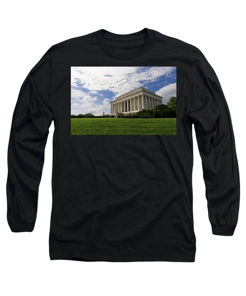 Lincoln Memorial And Sky Long Sleeve T-Shirt