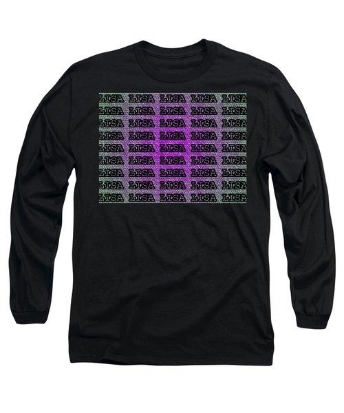 Lisa Lisa Lisa Long Sleeve T-Shirt