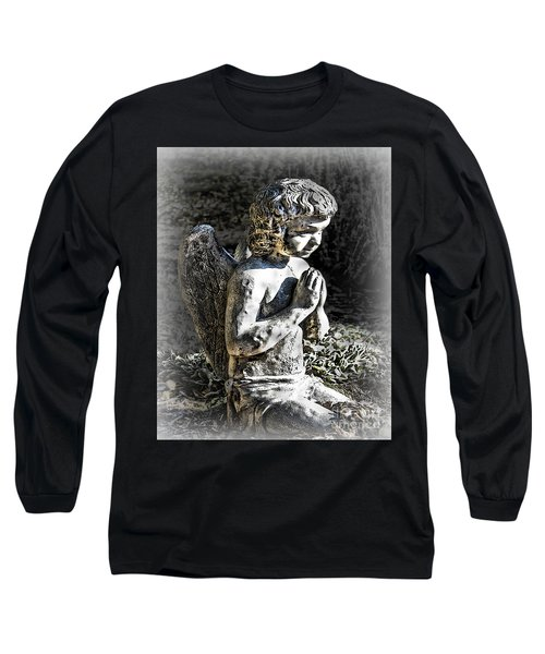 Little Angel Statue Long Sleeve T-Shirt