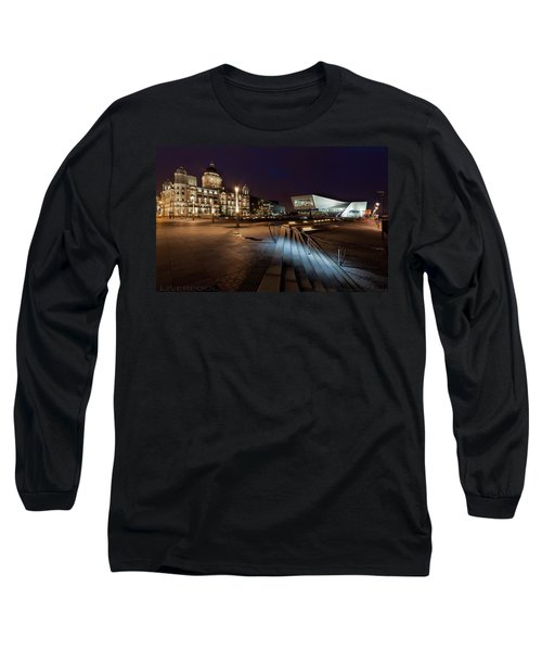 Liverpool - The Old And The New  Long Sleeve T-Shirt