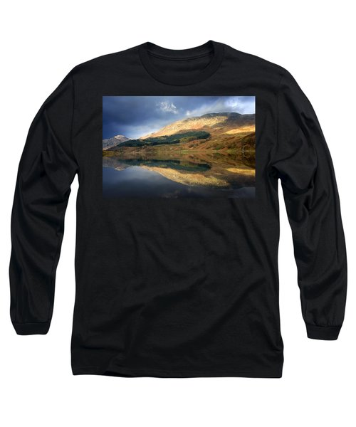 Loch Lobhair, Scotland Long Sleeve T-Shirt