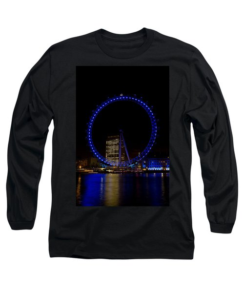 London Eye And River Thames View Long Sleeve T-Shirt